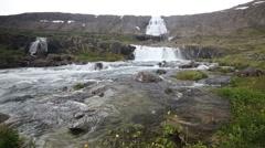 Dynjandi, the Westfjords, Iceland Stock Footage