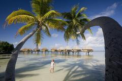 French Polynesia - South Pacific Stock Photos