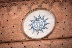 Palazzo Pubblico in Siena, Italy - stock photo