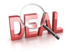Deal Stock Illustration