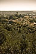 Medieval citadel of Vicopisano (Tuscany - Italy) Stock Photos