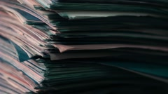 Old documents - stock footage