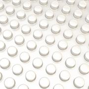 Stock Illustration of Surface covered with cylindrical bumps