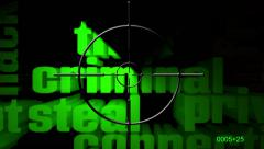 Search for wen crime radar - stock footage