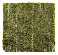 Nori edible seaweed sheet - stock photo