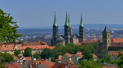 Bamberg, Franconia, Germany Stock Footage