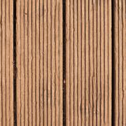 Corrugated wooden board texture - stock photo