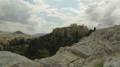 Acropolis of Athens - stock footage