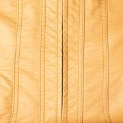 Leather texture with a zipper - stock photo