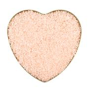 Heart shaped box filled with salt Stock Photos