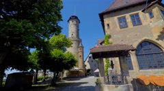 Altenburg Castle, Bamberg, Germany Stock Footage