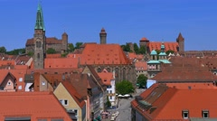 Nuremberg, Middle Franconia, Germany Stock Footage