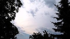 Clouds timelapse, storm is coming Stock Footage