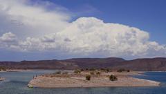 Lake Pleasant Thunderhead - stock footage