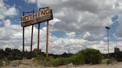 Nothing Arizona 01A - Establishing Shot Stock Footage
