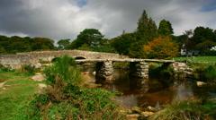 Timelapse, Postbridge, Dartmoor National Park Stock Footage