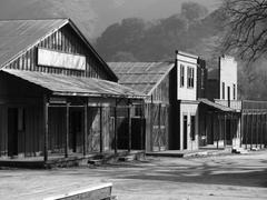 Paramount Ranch Western Town - stock photo