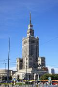Palace of Culture and Science in Warsaw, Poland Stock Photos