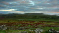 Timelapse, Dartmoor National Park Stock Footage