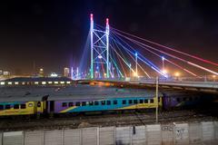 Nelson Mandela Bridge - Johannesburg, South Africa Kuvituskuvat