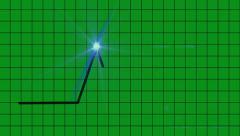 Scientific Diagram interface - Green Screen Stock Footage