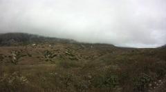 Santa Cruz Island Morning Fog Stock Footage