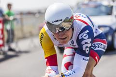 The Cyclist Andre Greipel Tour de France 2013 - stock photo