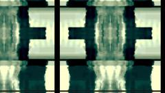 Stock Video Footage of TV Noise  Glitch  Distortion 1