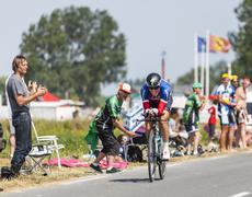 The Cyclist Sylvain Chavanel - Tour de France 2013 Stock Photos