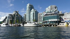 Vancouver Water Sightseeing - 03 - stock footage