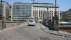 Naples, Borgo marinari Stock Footage