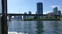 Vancouver Water Sightseeing - 01 Stock Footage