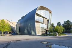 Museum for modern art Kiasma in capital of finland helsinki Stock Photos