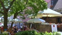 Nuremberg, Middle Franconia, Germany Stock Footage