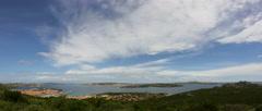 La Maddalena Archipelago Panorama Palau Sardinia Italy - 29,97FPS NTSC Stock Footage