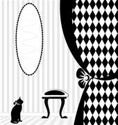 background fantasy home - stock illustration