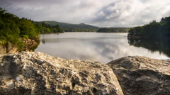 Timelapse, Burrator Reservoir, Dartmoor National Park Stock Footage