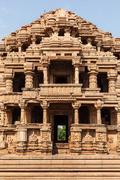 Stock Photo of Sasbahu (Sas-Bshu ka mandir, Sahastrabahu Temple) temple in Gwalior fort. Gwa