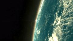 Man 1st artificial satellite, USSR Sputnik 1. Stock Footage
