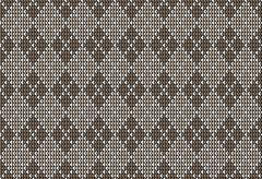 Argyle background pattern - stock illustration