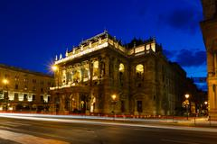 Opera House, Budapest Stock Photos