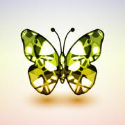 Abstract butterfly Stock Illustration