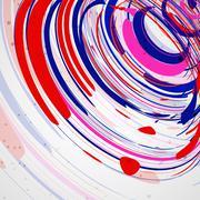 Colorful elements background Stock Illustration