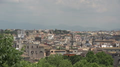 View of Rome Stock Footage