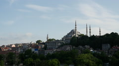 Şehzade Mosque in Istanbul Turkey Stock Footage
