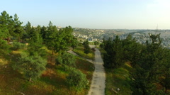 4K Aerial of Jerusalem, ISRAEL Stock Footage