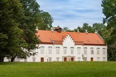 Novi Dvori Castle in Zapresic, Croatia Stock Photos