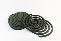 mosquito coil - stock photo