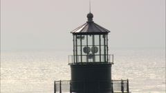 AERIAL United States-Cape Hatteras Light Stock Footage