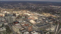 AERIAL United States-Greensboro Stock Footage